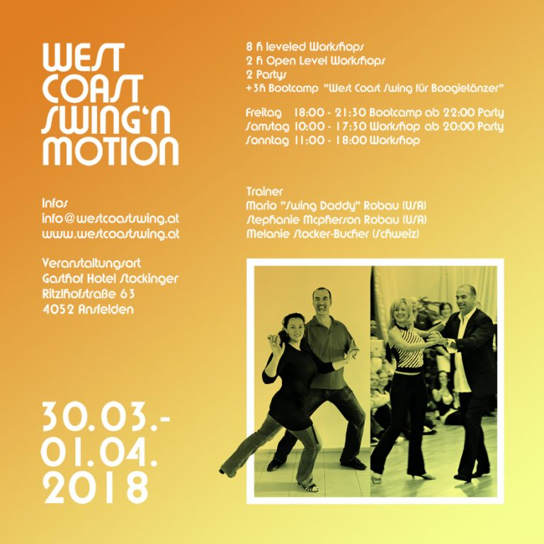 West Coast Swing N Motion – AUSTRIA
